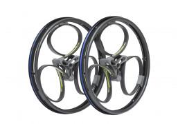 Aktivní odpružená kola Loopwheels - černá